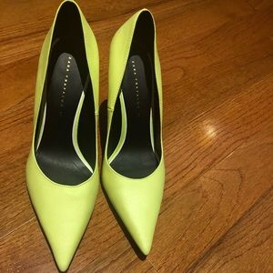 ZARA Neon Pumps